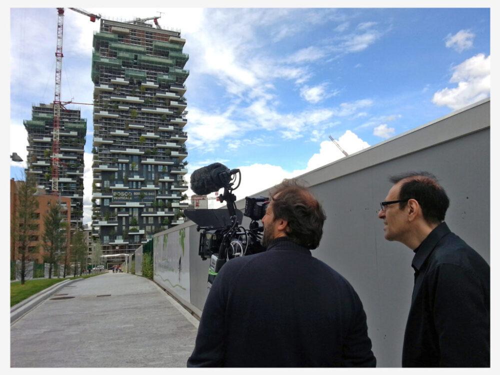 'Bosco Verticale' Project, Milan, for Nano/3sat.