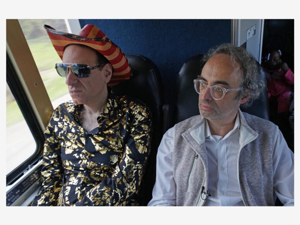 'Midnight Cowboy' redux?  Greyhound bus shoot with author Gary Shteyngart for Kulturzeit/3sat.