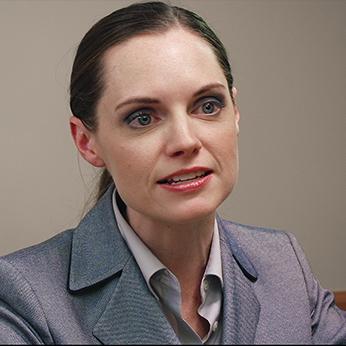 Judy Maier as Attorney Brenda Kaufman